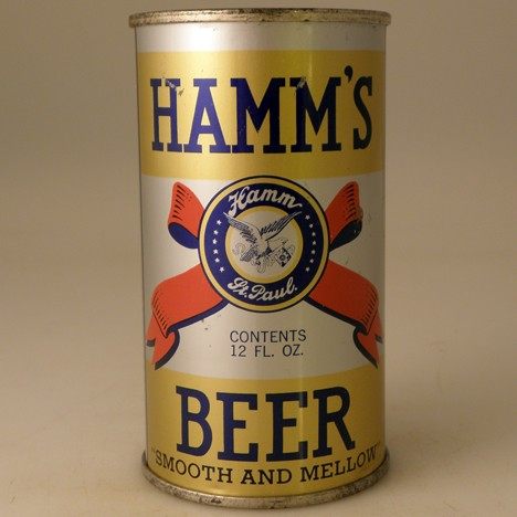Hamm's Beer Bright Gold 377 Beer