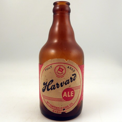 Harvard Ale Fully Aged Beer