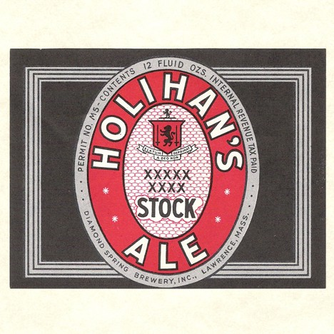 Holihan's Stock Ale Silver Beer