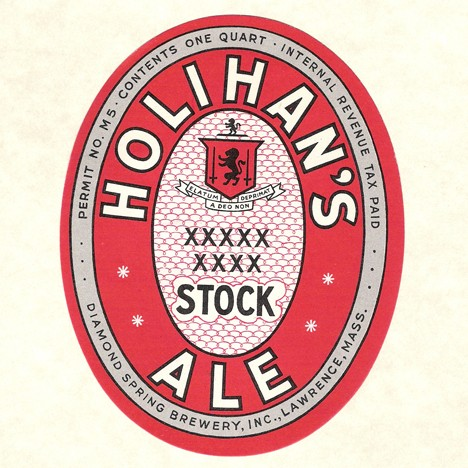 Holihan's Stock Ale Quart Beer