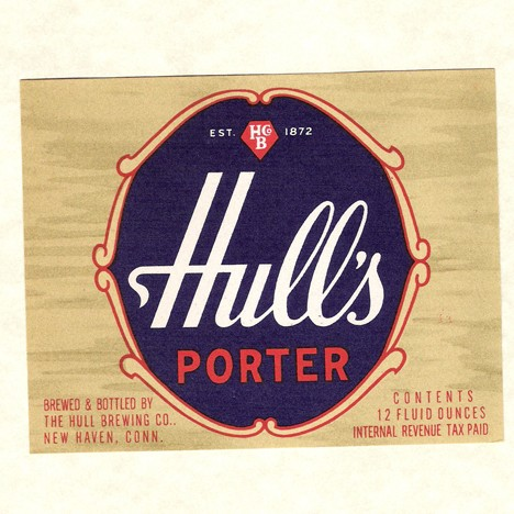 Hull's Porter Woodgrain Beer