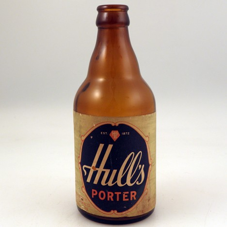 Hull's Porter Oval Beer