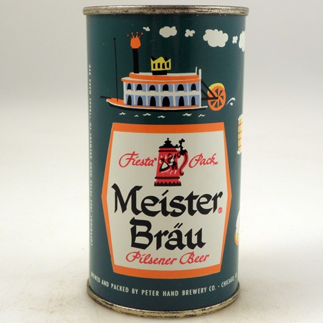 Meister Brau Steamboat Orange 098-04 Beer