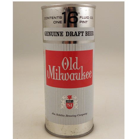 Old Milwaukee Draft 1969 159-15 Beer