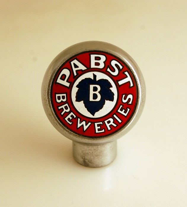 "Pabst ""B"" Tap Knob Beer"