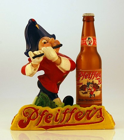 Pfeiffer's Beer Figurine Beer