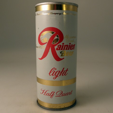 Rainier Light Half Quart 162-15 Beer
