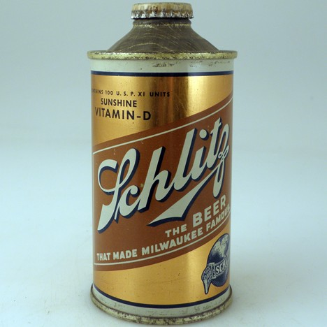 Schlitz Vit D LP Gold 183-22 Beer