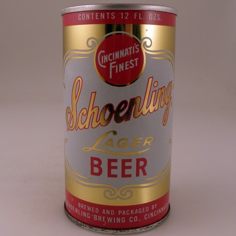 Schoenling Lager Ring 123-24 Beer