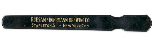 Rubsam & Horrmann Foam Scraper Beer