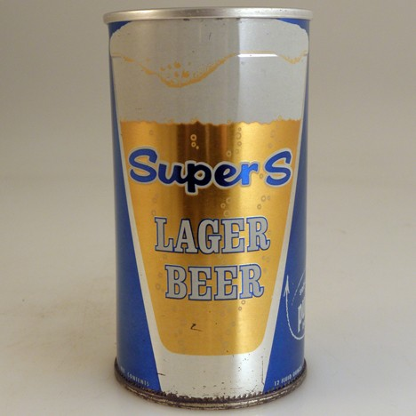 Super S Blue 129-26 Beer