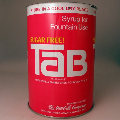 Tab Fountain Syrup Gallon T60-G1 Beer
