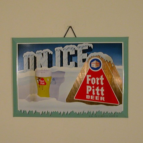 Fort Pitt Sign Beer