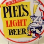 Piel's Light Beer Button Sign Photo 2
