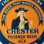 Chester Pilsener Beer & Ale Tin Charger Photo 2