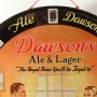 Dawson's Ale & Lager Tin Charger Photo 4