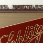 Schlitz In Bottles Reverse Painted Glass Sign Photo 2