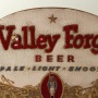 Valley Forge Beer Die-Cut Embossed Foil Sign Photo 2
