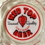 Red Top Beer Glass Ashtray Photo 2