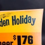 Hampden Holiday Music Sign Photo 2
