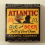 Atlantic Ale And Beer 10 cents Match Cover Photo 2