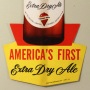 Redtop Extra Dry Ale Thin Cardboard Die-Cut Sign Photo 3