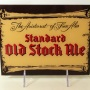 Standard Old Stock Ale Reverse-Painted-Glass Sign Photo 2
