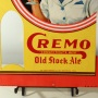 Cremo Old Stock Ale Bottle Topper Sign with Woman Photo 3