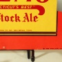 Cremo Old Stock Ale Bottle Topper Sign with Woman Photo 4