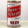 Mann-Chester Extra Pale Extra Dry Beer 094-32 Photo 3