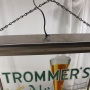 Trommer's Genuine Ale Gillco Hanging Back Bar Lamp Photo 6