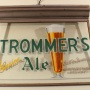 Trommer's Genuine Ale Gillco Hanging Back Bar Lamp Photo 8