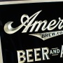 American Brewing Beers Ales Statue Liberty RPG Sign Photo 2