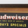 Budweiser Today's Specials Beer Can Sign Photo 3