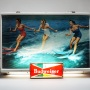 Budweiser Ladies Water Ski Lighted Sign Photo 2