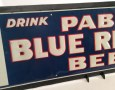 PBR Bottle Tin Sign Photo 3