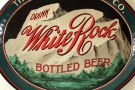 White Rock Bottled Beer - Akron Brewing Co. Oval Tray Photo 2