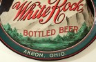 White Rock Bottled Beer - Akron Brewing Co. Oval Tray Photo 4