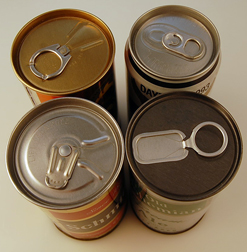 Examples of Tab Top Cans Schmidt