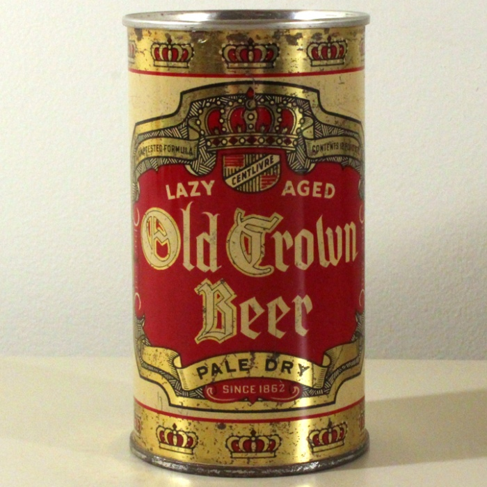 Old Crown Pale Dry Beer 591 Beer