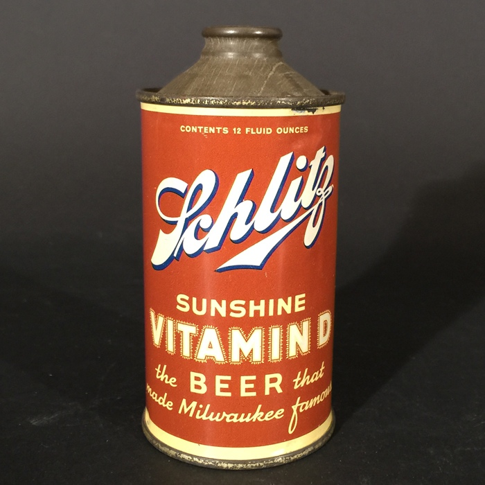 Schlitz Sunshine Vitamin D 183-20 Beer
