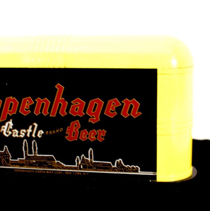 Copenhagen Castle Back Bar Deco Lamp At Breweriana.com