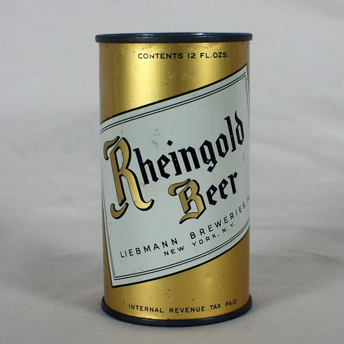"Rheingold Beer BIG ""R"" 123-34 Beer"