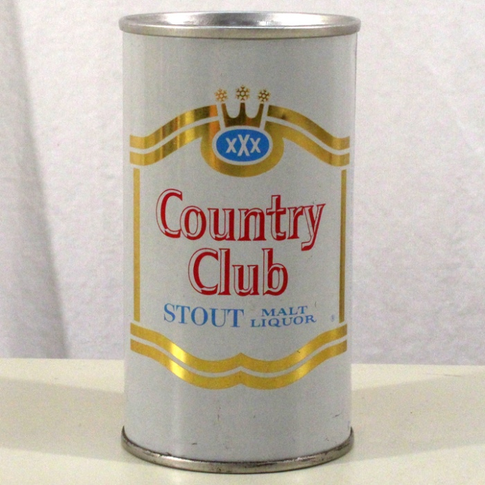 Country Club Stout Malt Liquor 057-25 Beer