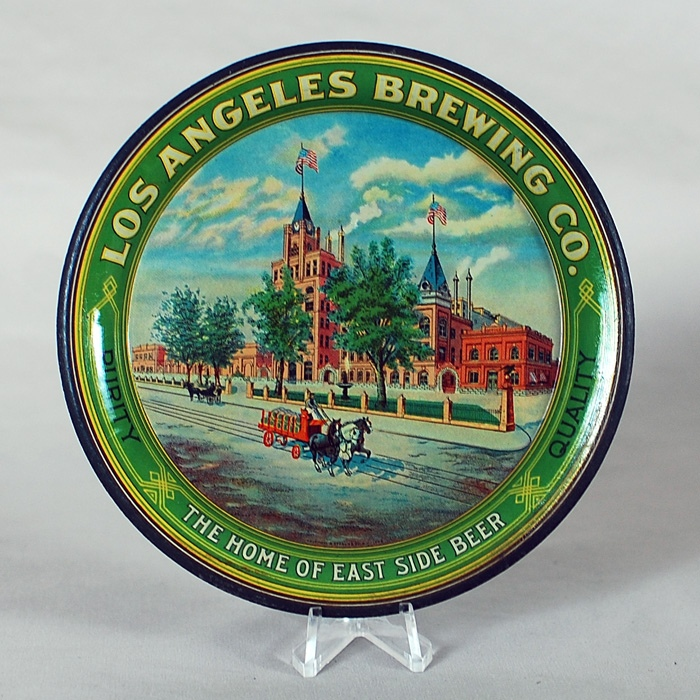 Los Angeles Brewing Factory Tip Tray Beer