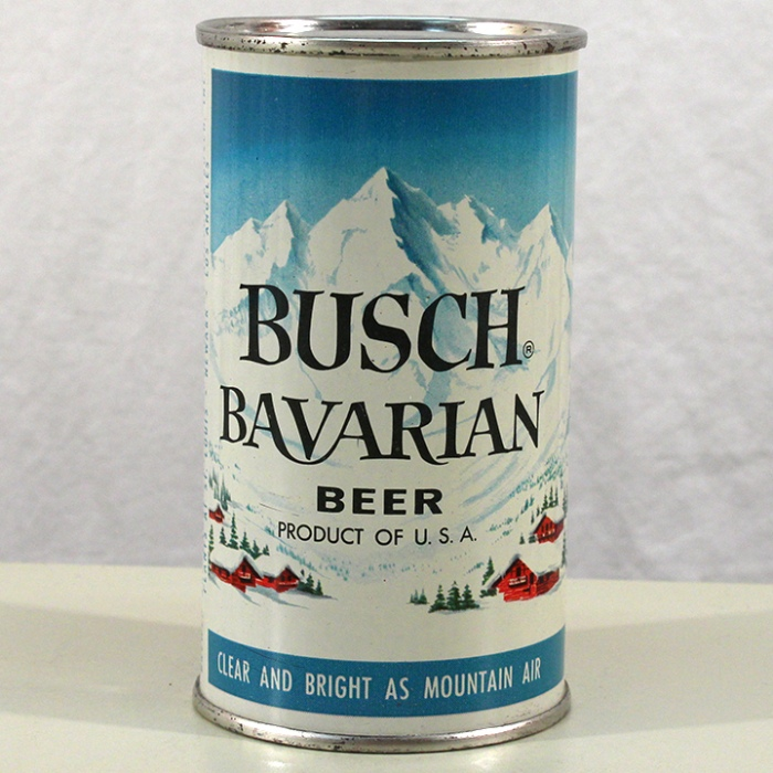 Busch Bavarian Beer (Green Trees) 047-21 Beer