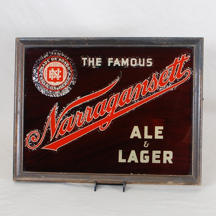 Narragansett Ale Lager Lamp Sign Beer