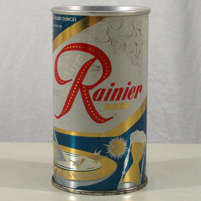 "Rainier Truly Mild Beer ""Aged Naturally"" 186-82 Beer"