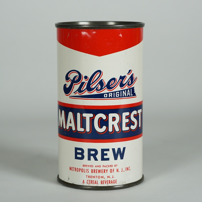 Pilsers MaltCrest Brew Can 116-03 Beer