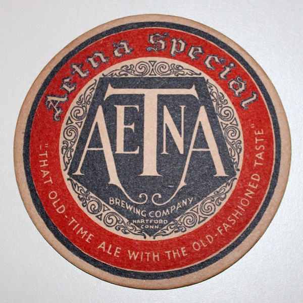 "Aetna Brewing Co. ""Aetna Special"" Beer"
